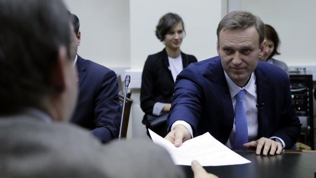 La Comisión Electoral veta la candidatura del líder opositor Navalni a las elecciones rusas de 2018