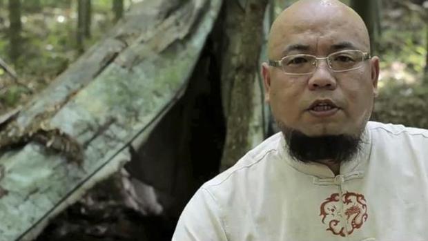 El popular activista y bloguero chino Wu Gan, condenado a ocho años de prisión