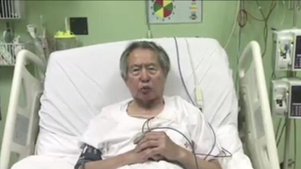 Fujimori pide perdón y agradece el indulto otorgado por Kuczynski