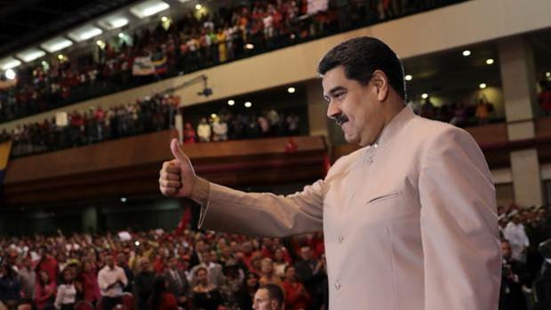 Nicolás Maduro, en un acto celebrado en Caracas