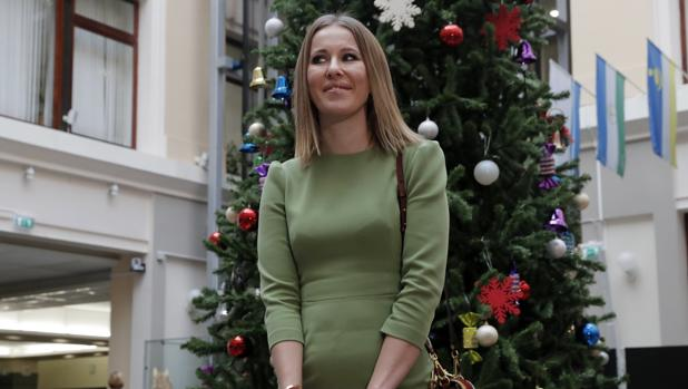 La Paris Hilton rusa sí es admitida como candidata a las elecciones presidenciales