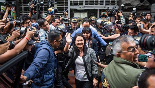 Keiko Fujimori y Kuczynski declaran durante horas por el caso Odebrecht