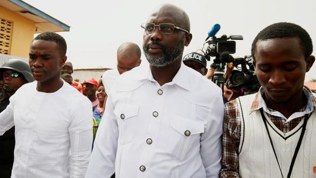 George Weah se convierte en el presidente de Liberia