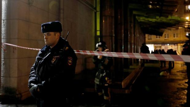 Detenido el autor del atentado en San Petersburgo