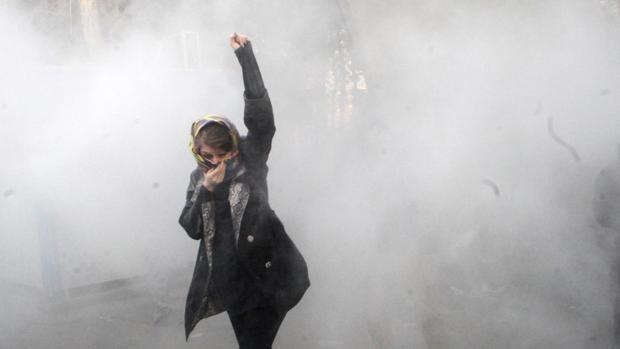 Al menos diez muertos en las protestas del domingo en Irán