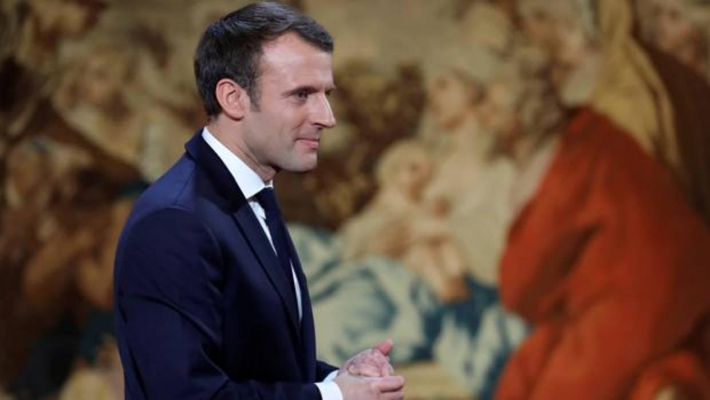 Macron anuncia una ley para combatir las noticias falsas en periodo electoral