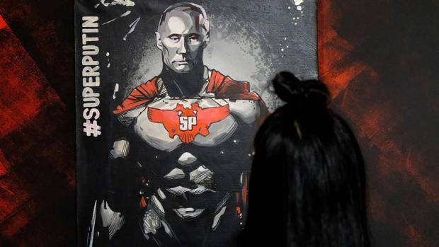 Super Putin: el culto omnipresente al presidente ruso