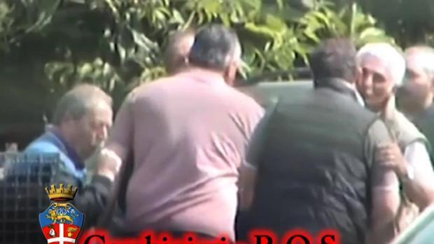 Imagen de archivo de una operación policial contra la 'Ndrangheta en 2014