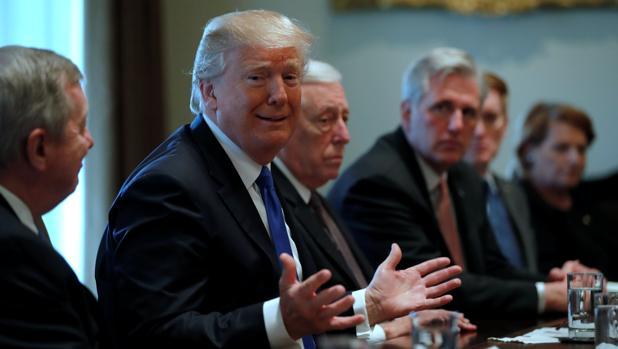 Ultimátum de Trump para salvar a los «dreamers» a cambio del muro