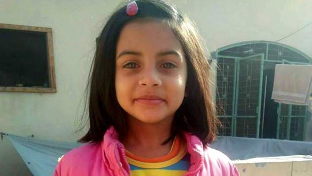 Zainab Ansari, en una foto cedida por la familia
