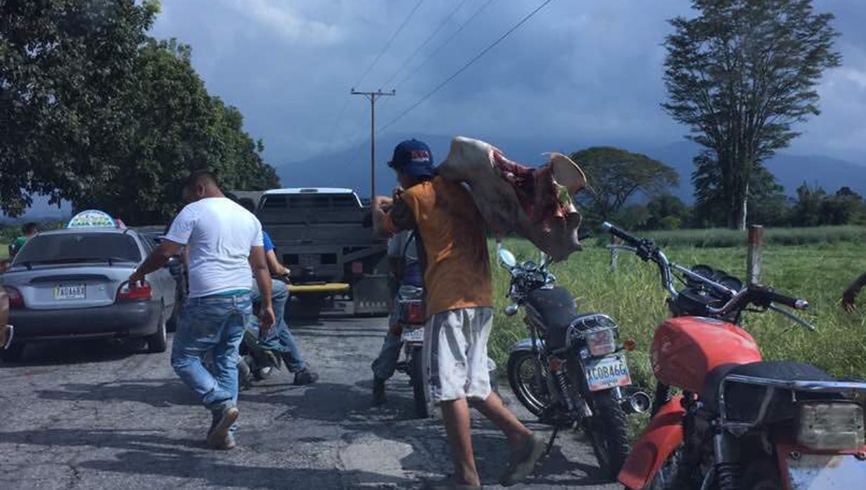 Se propagan los disturbios a causa del hambre por el sur y la zona andina de Venezuela