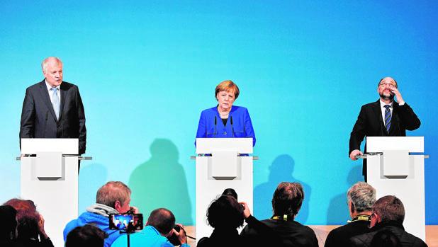 La Gran Coalición alemana apoyará la Europa fuerte que pide Macron