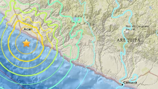 Al menos dos muertos y medio centenar de heridos por un terremoto en Perú