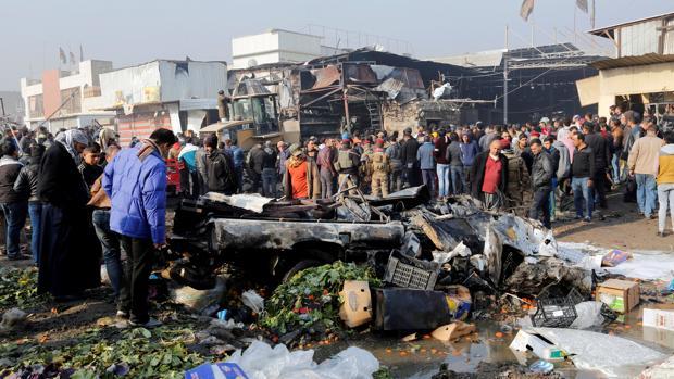 Hemeroteca: Al menos 26 muertos y 75 heridos en un doble atentado en Bagdad | Autor del artículo: Finanzas.com
