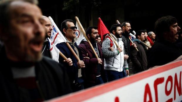 Hemeroteca: La huelga general del transporte público amenaza con paralizar Atenas | Autor del artículo: Finanzas.com