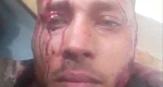 Óscar Pérez, este lunes, en una captura de vídeo divulgado en las redes sociales
