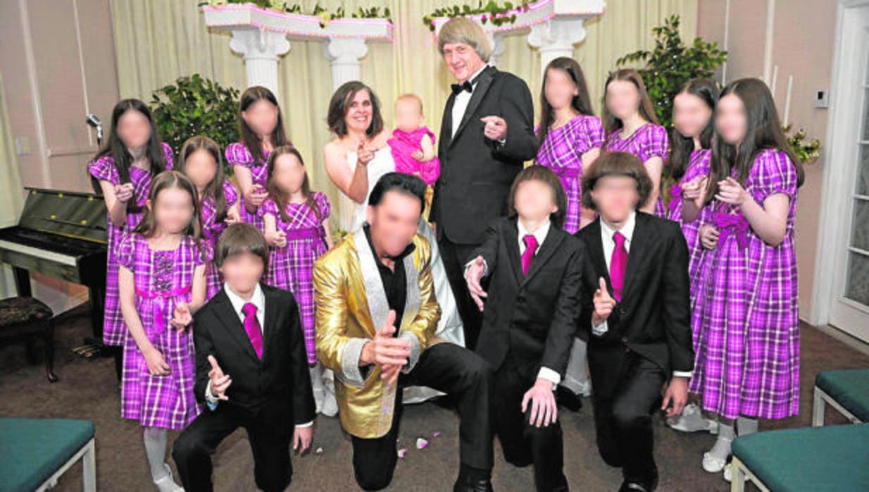Los Turpin, obsesionados con la Biblia y con la imagen de una familia feliz