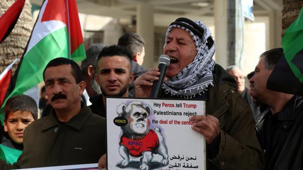 Pence concluye su gira en Israel entre la decepción palestina y el entusiasmo oficial