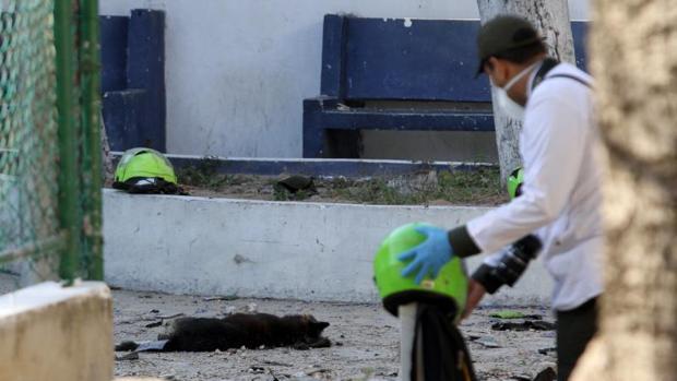 Al menos 4 muertos y 42 heridos en un ataque con explosivos contra una comisaría en Colombia
