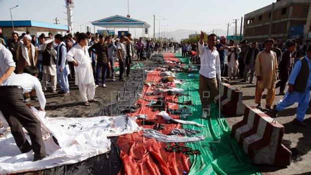 Talibanes y Daesh, contra el Gobierno de Kabul