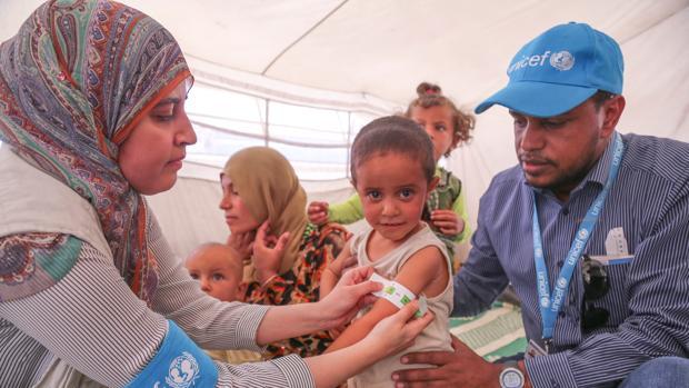 «Todas las partes del conflicto sirio reclutan niños de doce, once e incluso diez años», denuncia Unicef
