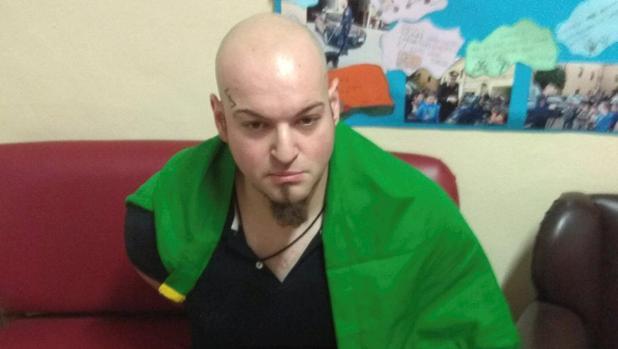 Luca Traini, de 28 años, el detenido por el tiroteo en Macerata