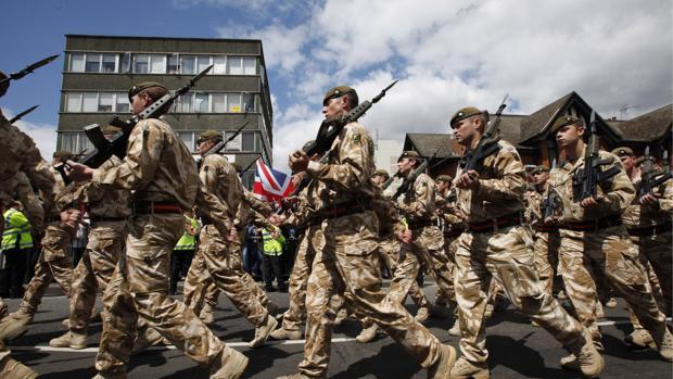 El Brexit paraliza a las Fuerzas Armadas británicas