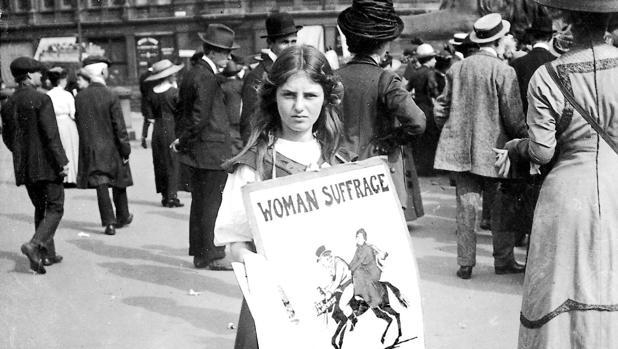 El Gobierno británico perdonará las penas de las sufragistas cien años después