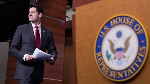 El presidente de la Cámara de Representantes, Paul Ryan