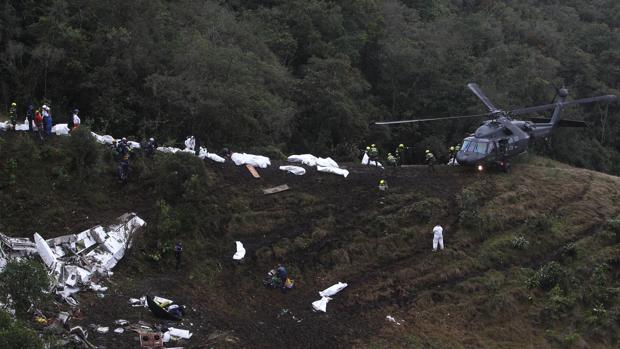 El accidente de avión que sufrió el equipo de fútbol del Chapecoense conmocionó al mundo
