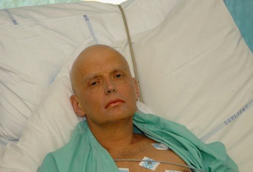 itvinenko ingresado en el hospital poco antes de fallecer