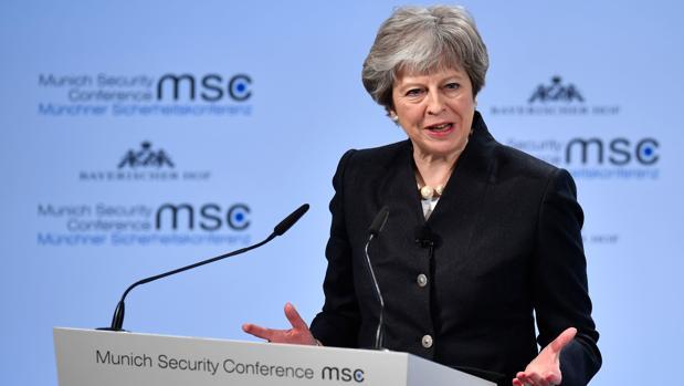 Theresa May: «No hay posibilidad de un segundo referéndum» sobre el Brexit