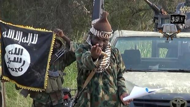 Abubakar Shekau, líder de Boko Haram, en un vídeo lanzado en 2015