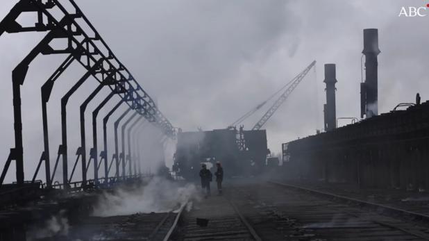 Crónicas desde el frente de Ucrania: la fábrica de coque de Avdiivka