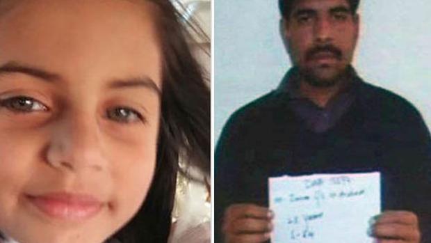 Resultado de imagen para Sentencia a muerte al asesino de una niña de siete años en Pakistán