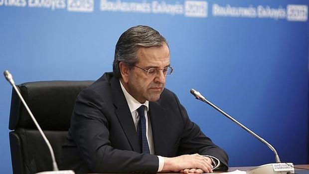 El ex primer ministro griego Andonis Samarás
