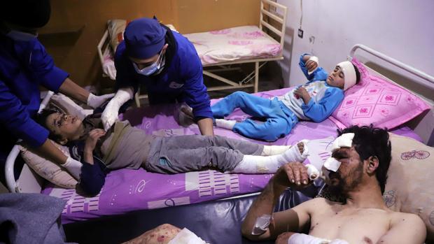 Al Assad ignora el alto el fuego decretado por la ONU en Guta