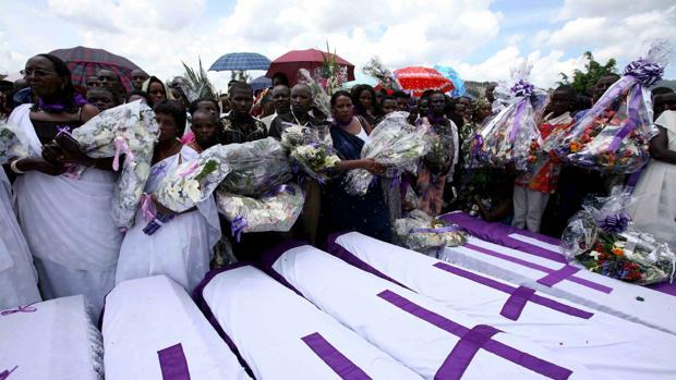 Ruanda prohíbe todo acto religioso durante la conmemoración del genocidio de 1994