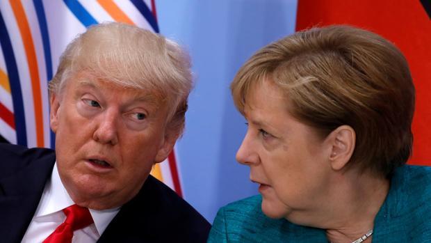 Merkel se alinea con Trump frente a la amenaza nuclear de Putin