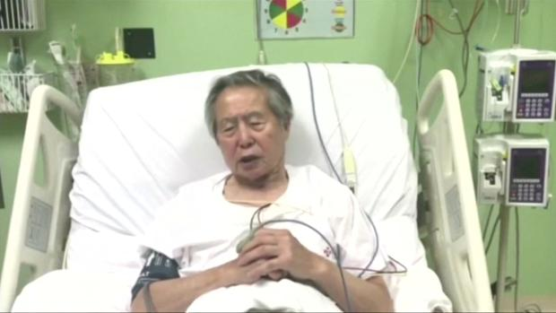 El expresidente peruano Alberto Fujimori, hospitalizado por una taquicardia y deshidratación