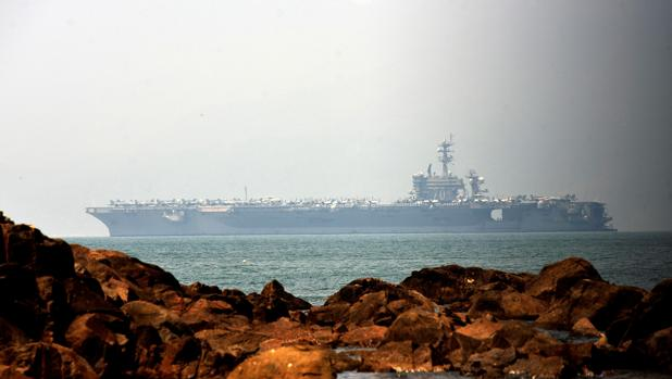 Visita histórica de un portaviones nuclear de EE.UU. a Vietnam en plena expansión de China