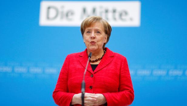 Merkel se volcará para que Alemania tenga «una voz fuerte en Europa»