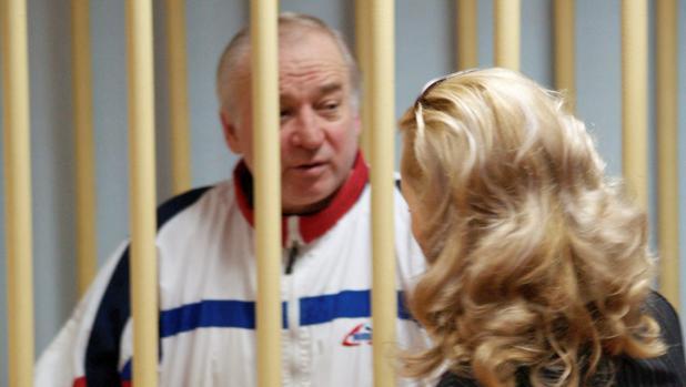 El exespía ruso Sergei Skripal, en una comparecencia ante el tribunal militar de Moscú en 2006