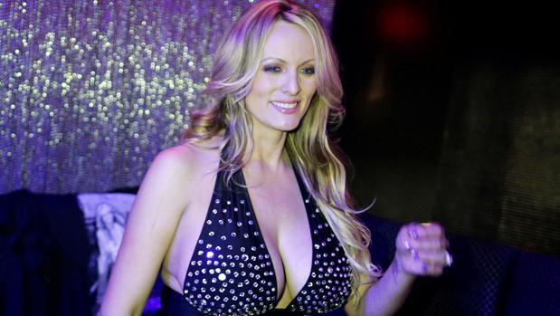 La actriz porno Stephanie Clifford, conocida como Stormy Daniels, en una imagen del pasado mes de febrero