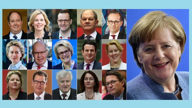 Merkel estrena gobierno con muchas caras nuevas