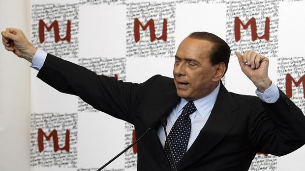 El político italiano Silvio Berlusconi en 2009