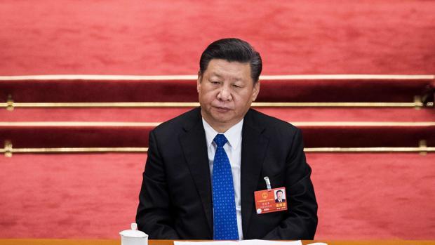 El presidente chino Xi Jinping, durante la cuarta sesión del Congreso Nacional del Pueblo