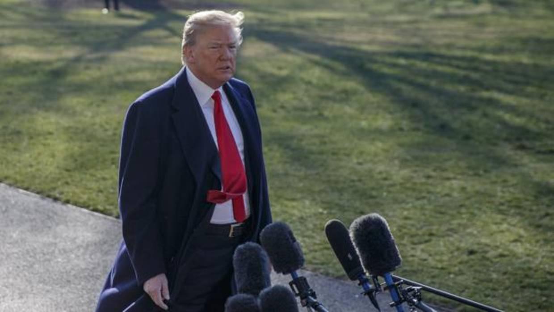 Trump ordenó a sus asesores firmar acuerdos de confidencialidad