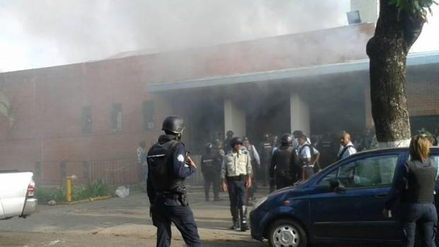 Imagen del centro de reclusión donde se ha producido el mortal incendio
