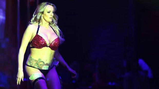 Stormy Daniels, en el club de striptease de Pompano Beach, Florida